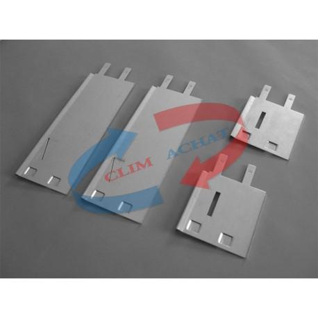 Contre-cadre métallique de L500xH100 Prof. 98 mm