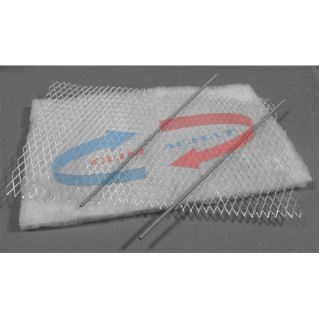 Filtre universel avec porte-filtre L400xH150