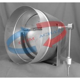 Compensateur Ø160 de pression circulaire (by-pass) .