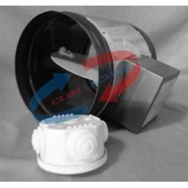 Registre diam.125 circulaire motorosé - 220v