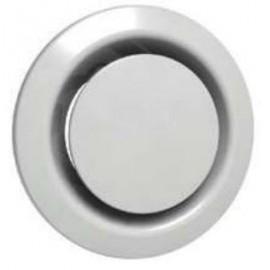 Bouche plastique  Ø 160 mm blanc réglable (BEIP)
